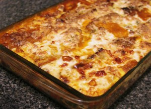 Lasagna with Spicy Red Kidney Beans